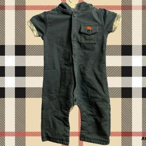 Burberry Snap One Piece Infant Baby Boy 3M